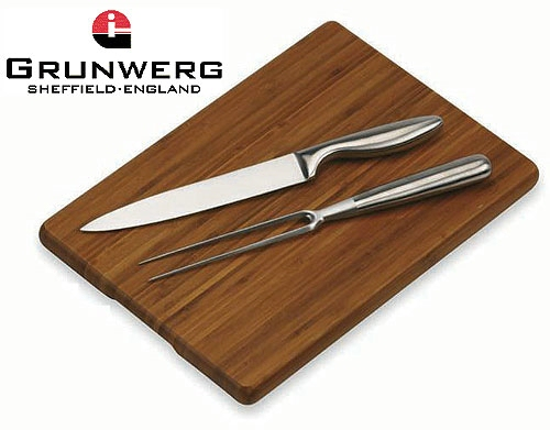 Bamboo Carving Set and Board