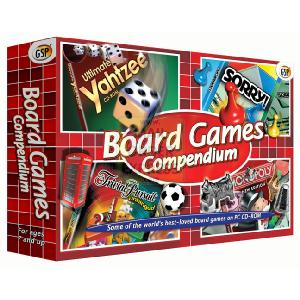 Board Games PC CD-ROM Quad Pack