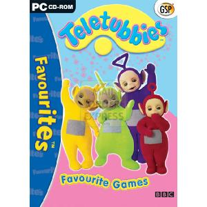 Teletubbies Favourite Games PC CD-ROM