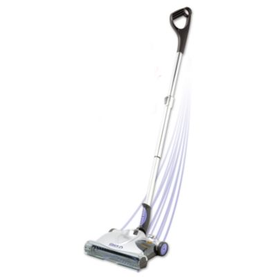 Cordless electronic sweeper