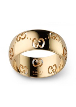Icon 18ct Gold 8mm Ring - Size M
