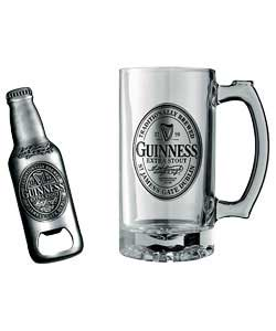 ; Extra Stout Tankard & Bottle Opener