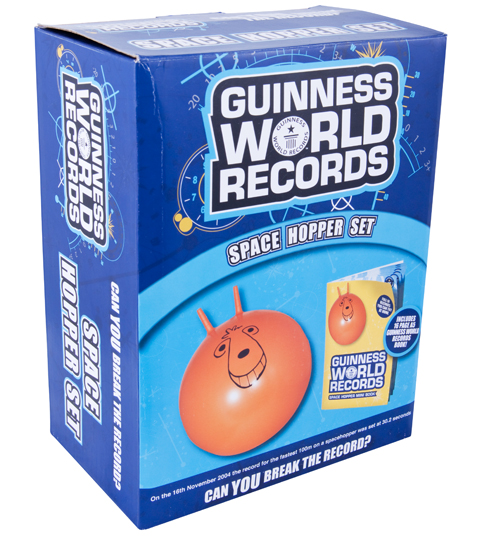 World Records Giant Space Hopper Set