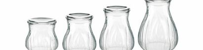 Guzzini Aqua Blown Jars Transparent 1200cc