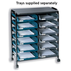 Beanstalk File Trolley 12 Tray Capacity