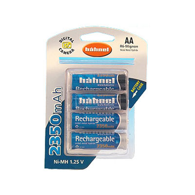2350mAh NiMH Batteries (Pack of 4)