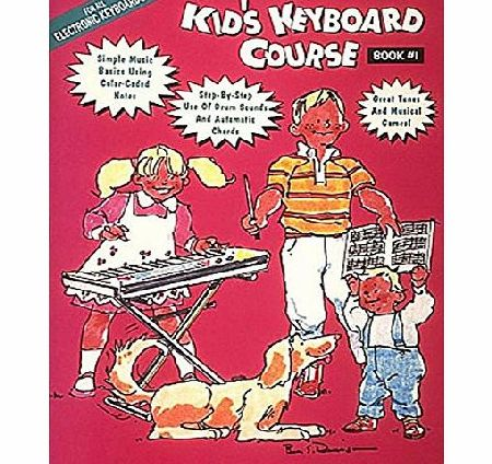 Hal Leonard Kids Keyboard Course: Bk. 1