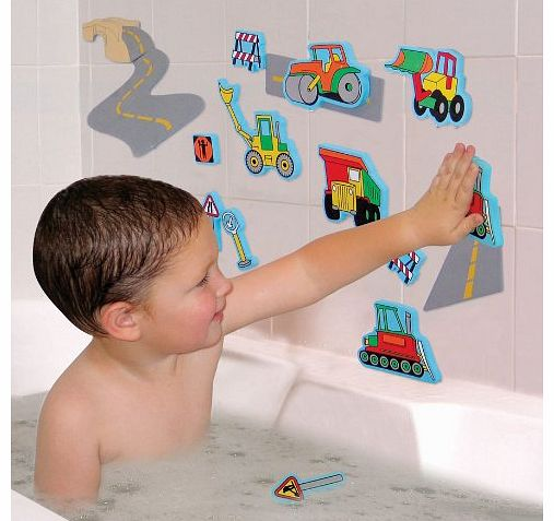 Edushape Magic Creations Road Construction Creative Bath Toy
