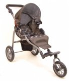 Mamas and Papas Dolls Sport Stroller - Polka Fabric