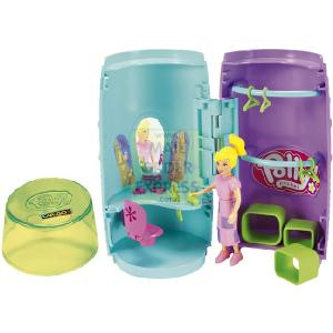 HALSALL - MATTEL Mattel Polly Pocket Car-Go Fun Playset Game