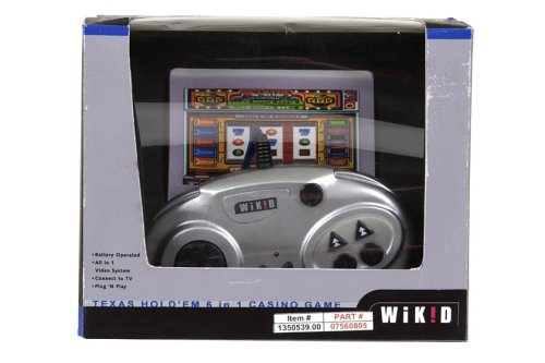 Halsall Wikid -Plug n Play 6 in 1 Casino Game