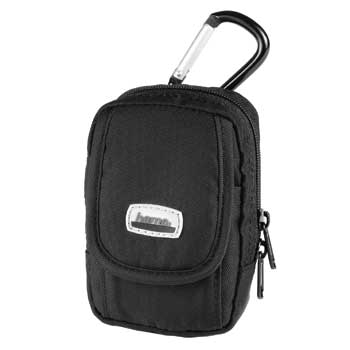HAMA Camera Case Black and Karabiner Hook - 26260