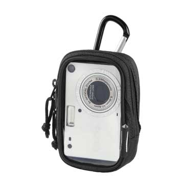 HAMA Camera Case with Clear Front and Karabiner Hook - 26275