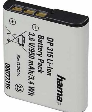 DP 315 Li-Ion Battery for Sony NP-BG1