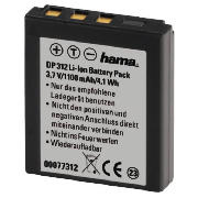 Li-Ion Battery DP 312 for Rollei