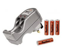 Hama PRIMA Plug-In Battery Charger   4 AA