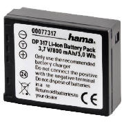HAMA Rechargeable Li-Ion Battery DP 317 for