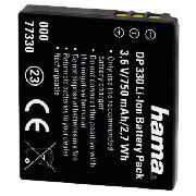 HAMA Rechargeable Li-Ion Battery DP 330 for