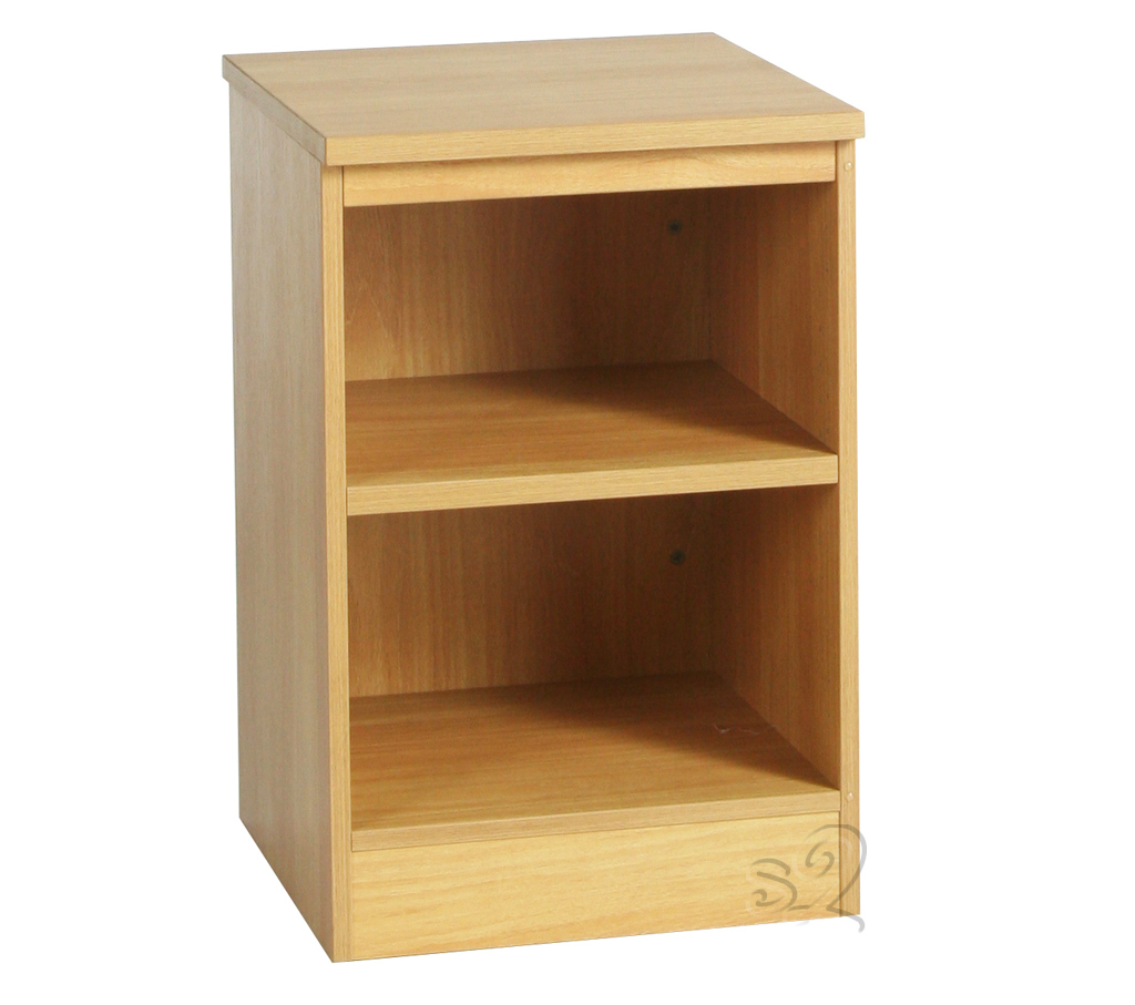 Beech Bookcase with 1 shelf 660mm