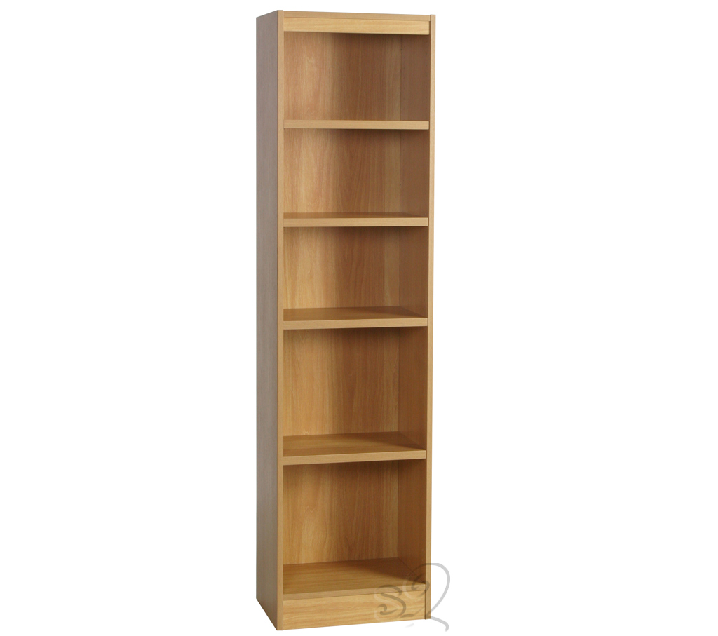 Beech Bookcase with 4 shelves