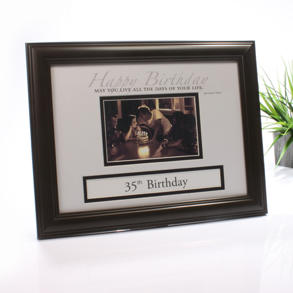 Birthday Personalised Frame