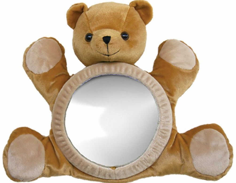 Bear View Mirror Brown