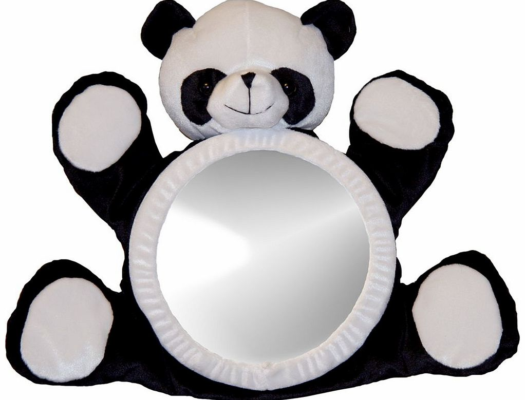 Bear View Mirror Panda