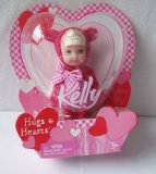 Barbie Kelly hearts and hugs Small doll about 4` inches tall