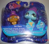 Littlest Pet Shop Pet Pairs Mouse and Peacock