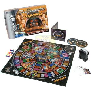 Hasbro Parker Games Star Wars Trivial Pursuit DVD