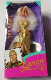 Sindy Top Model Doll Karen Mulder By Hasbro in 1995- box is in poor conditiion