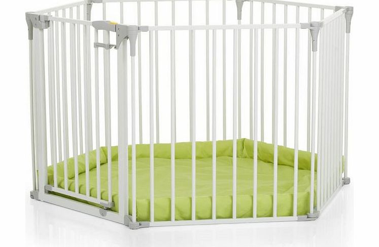 Hauck Baby Park Safety Gate-White (New 2015)