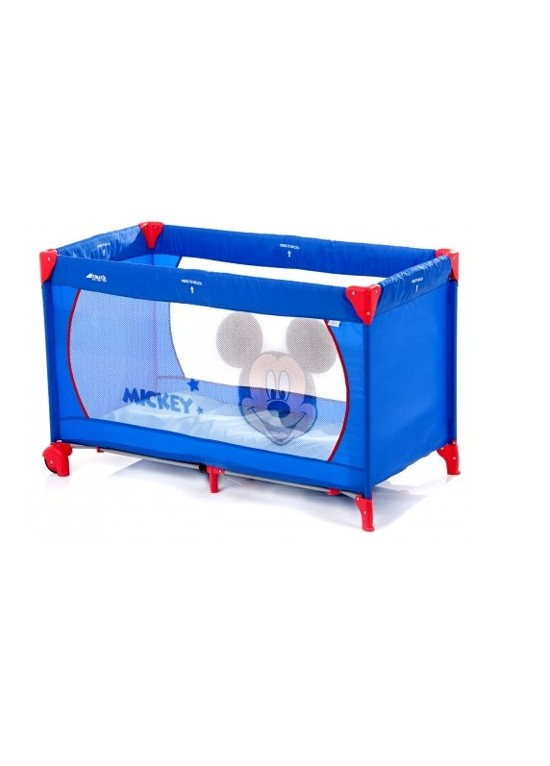 Hauck Dream n Play Go V Travel Cot-Mickey Blue