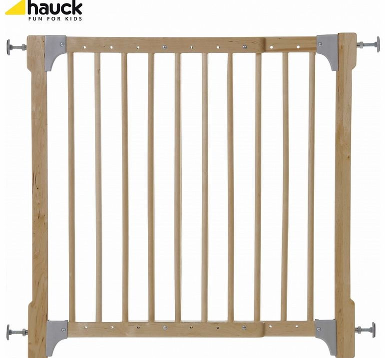 Wooden Extending Barrier-Pressure