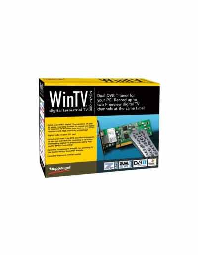 WinTV Nova-T 500 DVB-T PCI TV Tuner Card