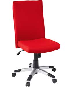 HIGH Back Swivel Office Chair - Red