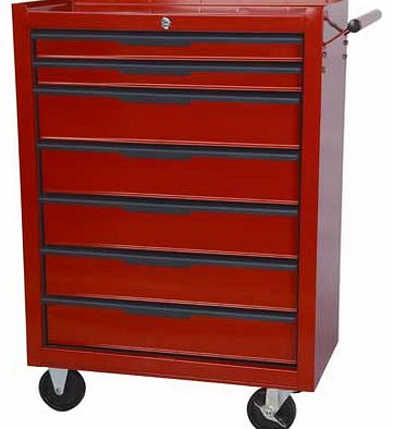 7 Drawer Mobile Tool Trolley