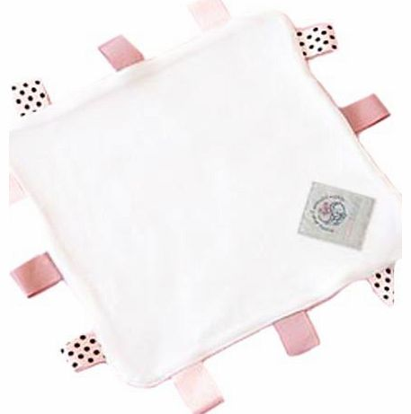 Baby Sense Taglet Security Blanket (Pink)