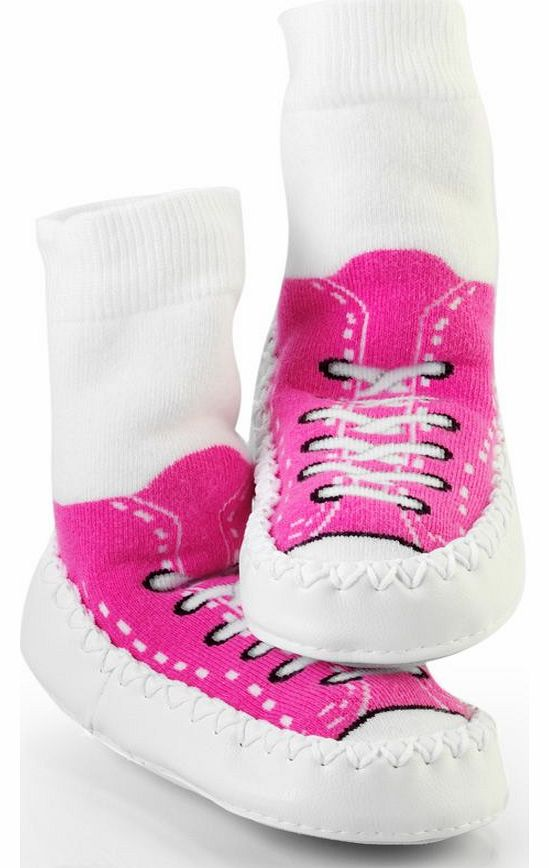 Hippychick Mocc On Pink Sneakers 18-24 Months 2014