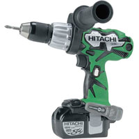 Dv18Dl 18v Cordless Combi Hammer Drill   2 Lithium Ion Batteries Plus FREE Bit Set
