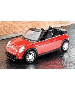 Mini Cooper S Cabriolet 1:14 Scale Radio Control Car