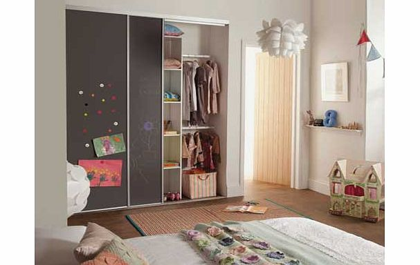 Home decor innovations kids chalkboard sliding wardrobe Home decor innovations