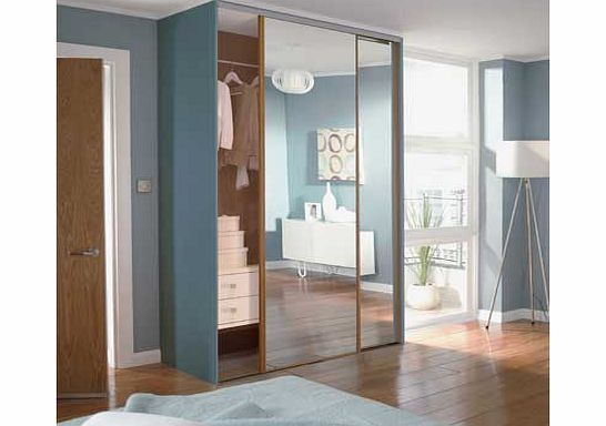 Home decor innovations oak mirror sliding wardrobe door Home decor innovations