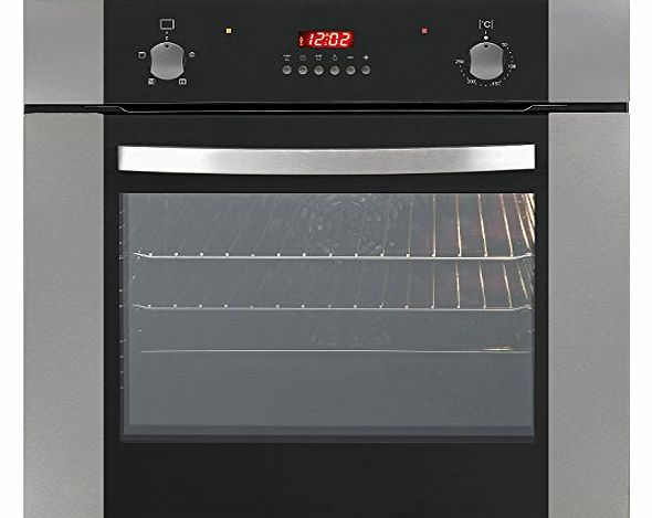 Baumatic HOF605SS Single Built In Electric Oven 60cm