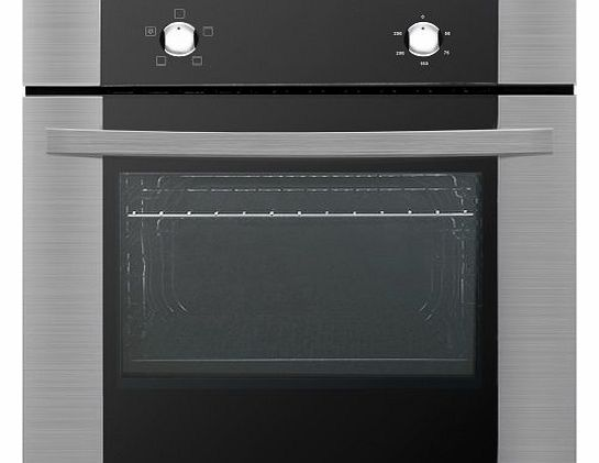 Baumatic HOS600SS 60cm Built in Single Electric Oven