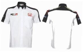 Mens BAR Honda Replica Team Shirt