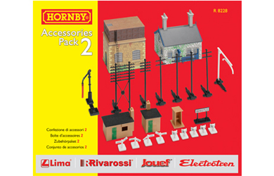 hornby TrakMat Accessories Pack 2