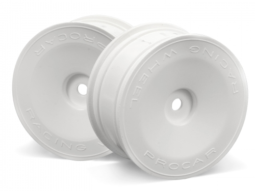 Disc Inch-up 26mm/0 Off. (Wht) (4/PACK) 4Pcs