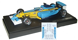 1:18 Scale Renault R23-J Trulli with Sponsor Decals