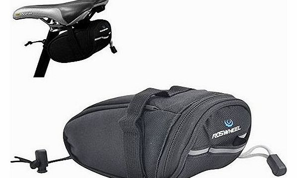 New ROSWHEEL Bicycle Bike Cycling Saddle Outdoor Pouch Seat Bag